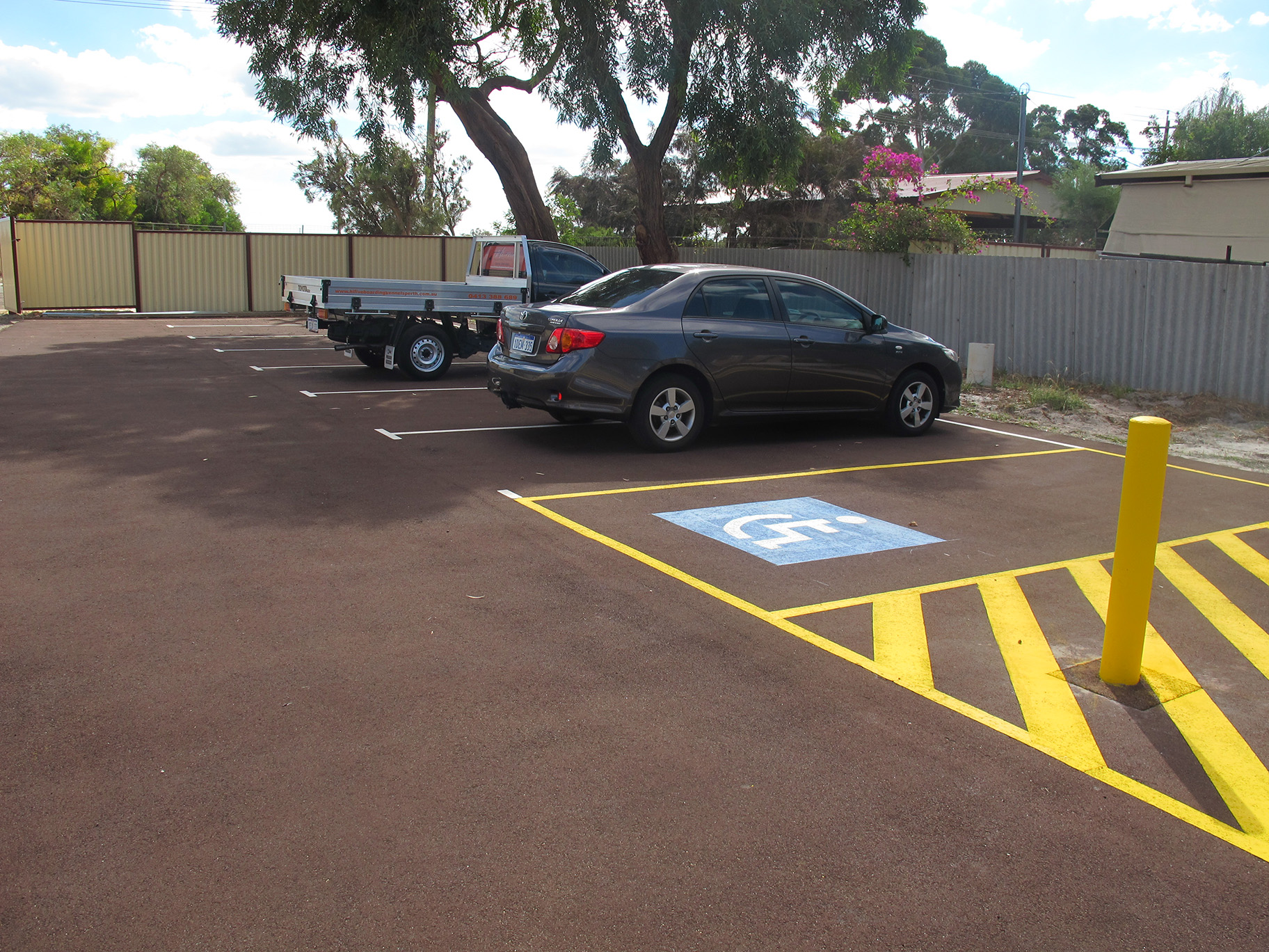 parking at boarding kennels southern river